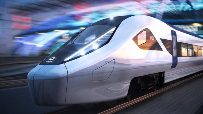 Businesses push government to complete HS2 railway - BBC News