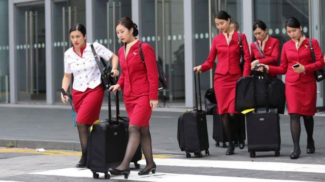 Nhân viên Cathay Pacific Airlines nói bị 'khủng bố trắng' sau khi lãnh đạo bị sa thải, theo Reuters.