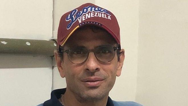 Henrique Capriles, 2020.