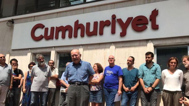 İngiliz medyasında Cumhuriyet gazetesi davası: 'Türkiye'nin basına saldırısı'