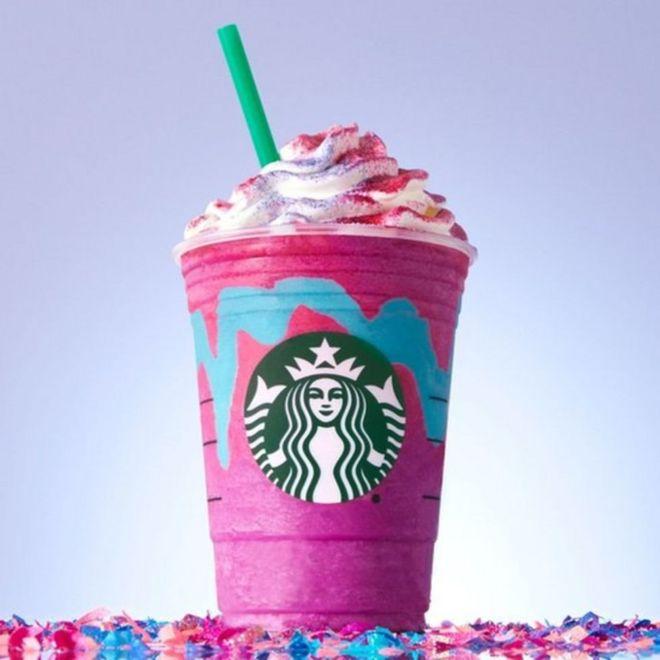 Frappuccino unicornio