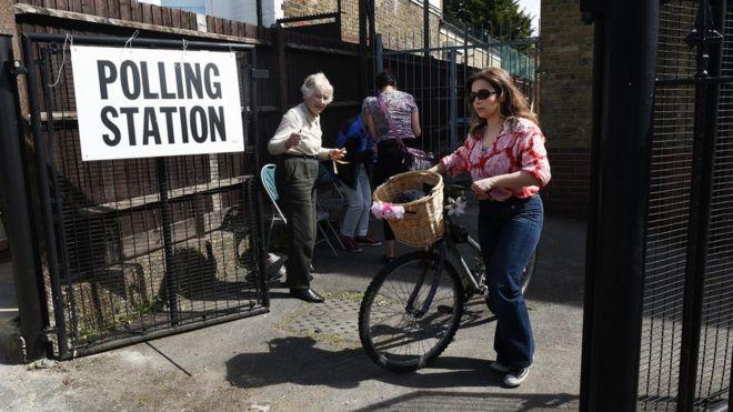 Барнет избирательный участок