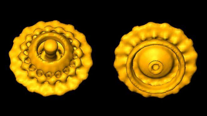 க்ரையோ - எலக்ட்ரான் நுண்ணோக்கி மூலம் எடுக்கப்பட்ட புகைப்படம்
