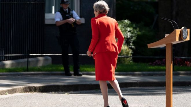 Theresa May: What does PM's departure mean for NI? - BBC News