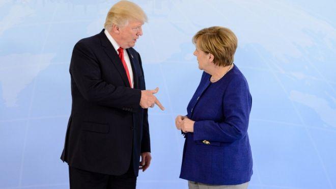 تهدید ترامپ برای وضع تعرفه روی خودروهای ساخت اروپا