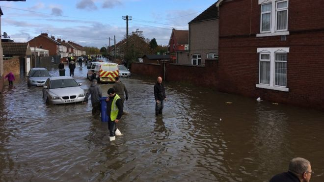Selected Marketing - Doncaster Flooding Image