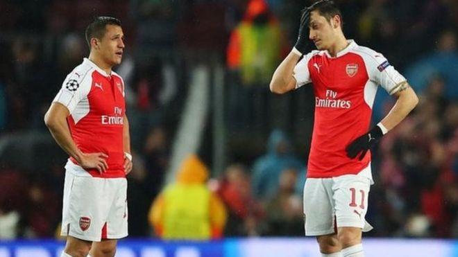 Watakila Sanchez da Ozil su bar Arsenal - BBC News Hausa