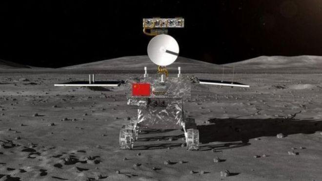 CNSA -  Image caption Tàu thăm dò Chang'e-4 sẽ khám phá vùng tối của Mặt Trăng