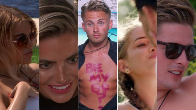 3e169fb412 Love Island  10 best moments from 2018 - BBC News