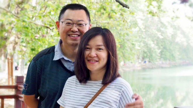 王怡与其妻子蒋蓉