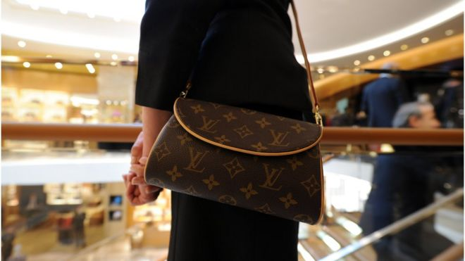 5a9514e2c7 Louis Vuitton handbags  cheapest in London  after Brexit vote - BBC News