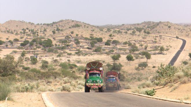पकिस्तान के सूबे सिंध का थार रेगिस्तान