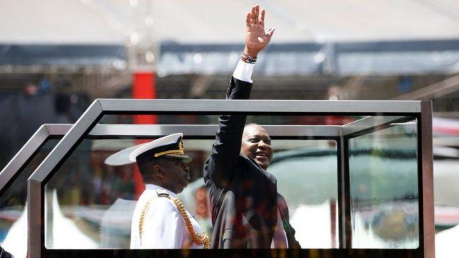 TOP NEWS : Uhuru Kenyatta oo loo dhaariyay xilka madaxweynenimada Kenya