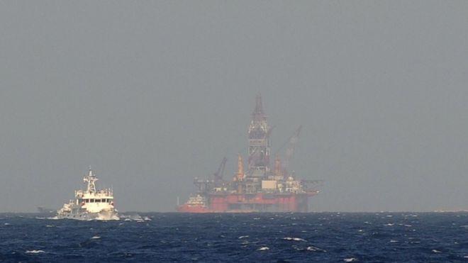 Một tàu cảnh sát biển Trung Quốc