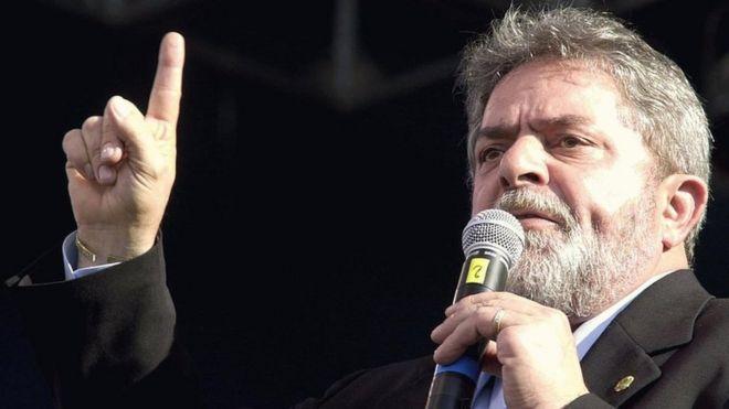 Lula no Fórum Social Mundial de 2003