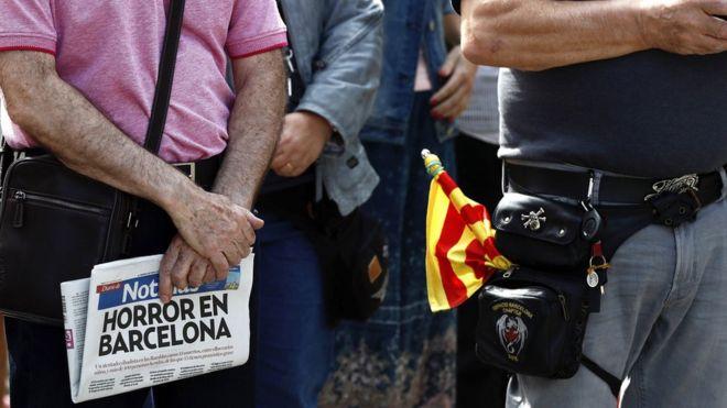 Растет число жертв теракта в Барселоне