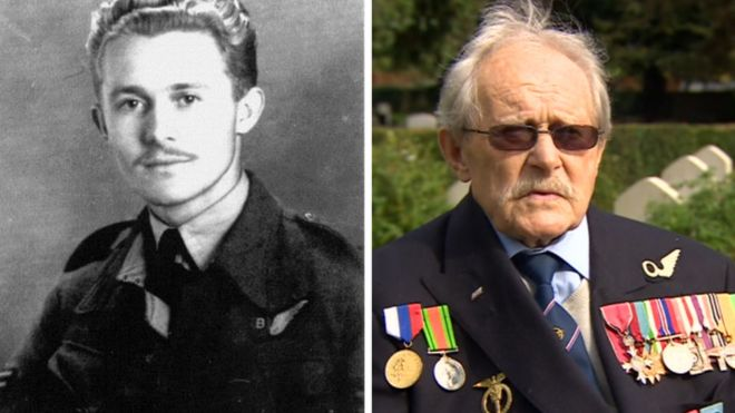 Hundreds of people turned out for the funeral of a World War Two veteran who had no surviving relatives