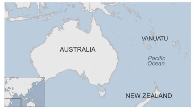 Pacific 7.2 magnitude earthquake strikes off Vanuatu - BBC News