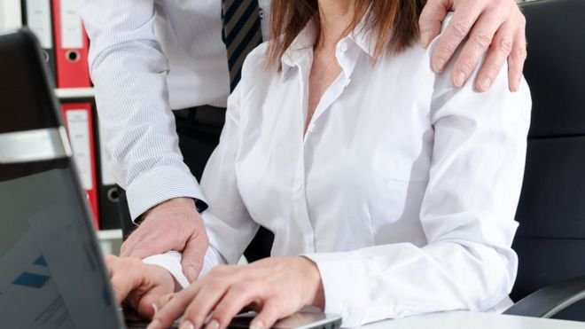 Victims of sexual harassment in the workplace