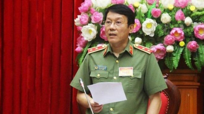 Ông Lương Tam Quang, Thứ trưởng Bộ Công an