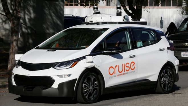 be6ee2b6f6 GM settles self-driving legal action with California biker - BBC News
