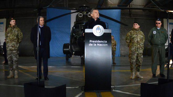 Macri en Campo de Mapy
