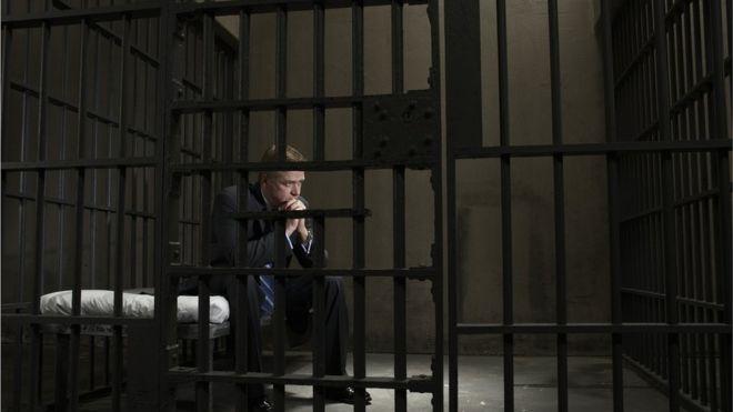 Milionário preso