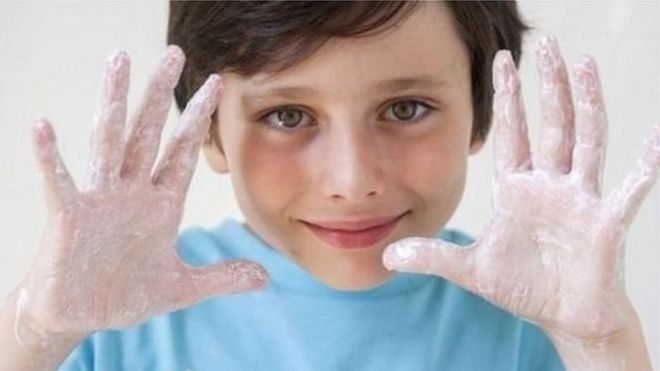 体育彩票养成良好洗手习惯终生受益