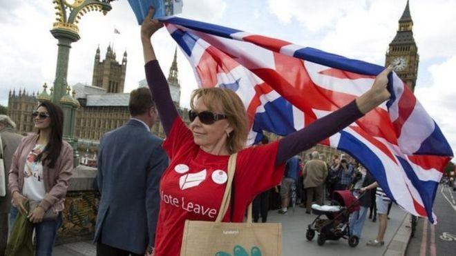 A Brexit vote leave campaigner