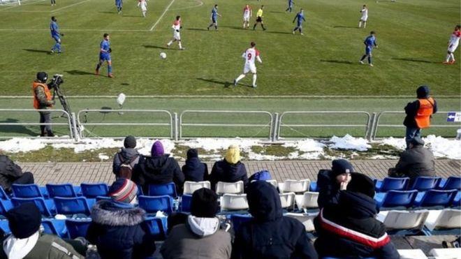 Belarusda futbol çempionatları hələ də davam edir