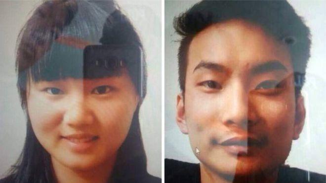 巴基斯坦警方5月公布的被绑架中国公民照片