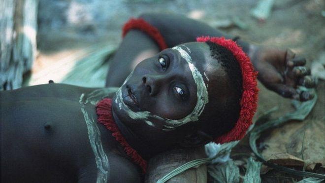Indígena do povo Jawara