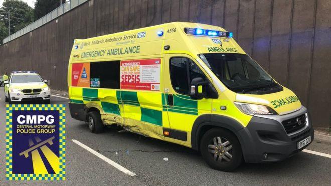 Driver asleep' crash on Aston Expressway prompts warning