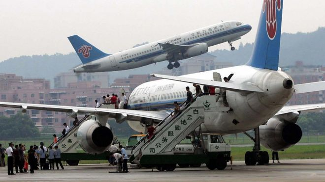 Flights within China are predicted to fully recover by the start of next month.