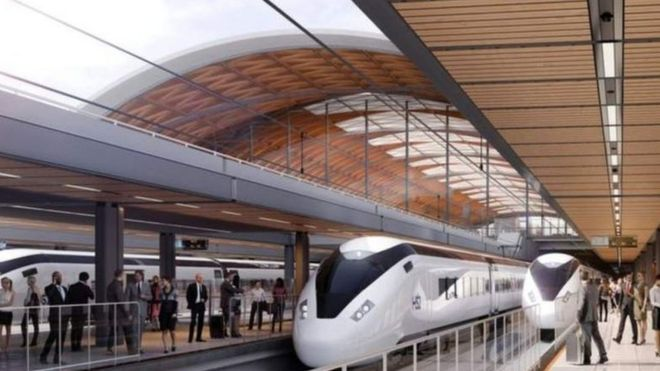 Plans for HS2 East Midlands Hub revealed