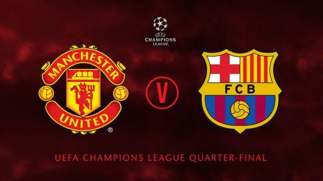 Man U Vs Barcelona United Fans Heart Dey Cut Sake Of Champions