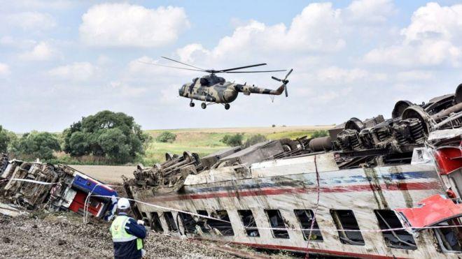 çorluda 24 Kişinin Hayatını Kaybettiği Tren Kazası Sonrası 2si