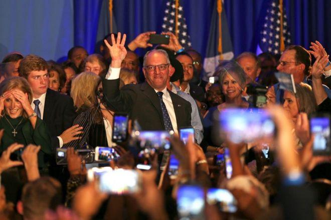 Thống đốc Dân chủ John Bel Edwards tái đắc cử chức thống đốc tiểu bang Louisiana