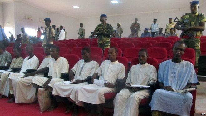 boko haram members sentenced to death in Chad