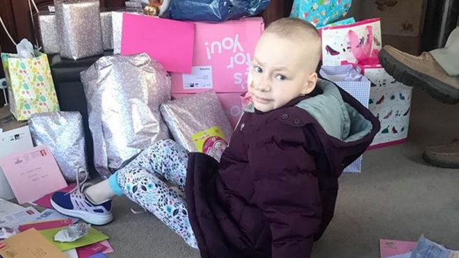 Lancashire Girl With Cancer Receives 3000 Birthday Cards