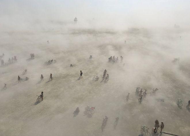 A desert storm