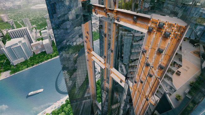 ascensor sin cables de Thyssenkrupp