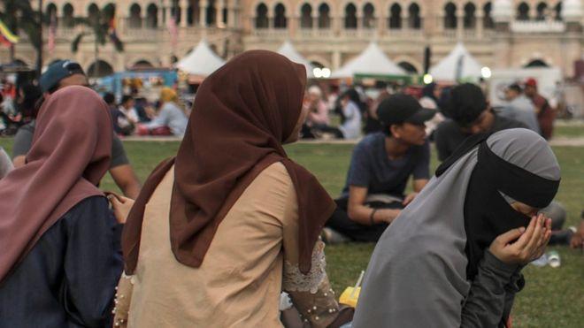 Generic image of Muslim women in Malaysia