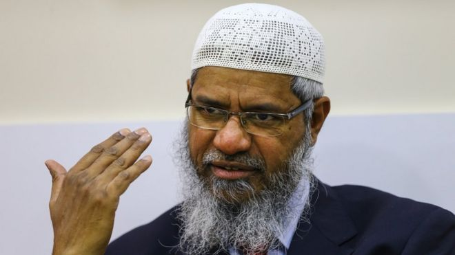'Zakir's speeches inspired suspects held for IS links'