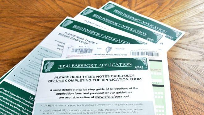 Irish Passport Applications Surge Continues Bbc News