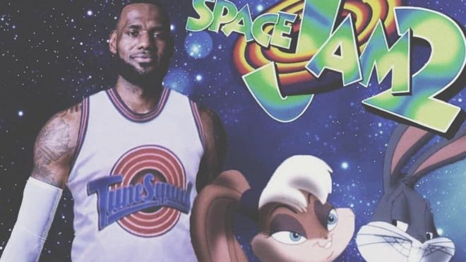 a0b82c42adac Space Jam 2 movie poster Image copyright SpringHill Entertainment. The release  date ...