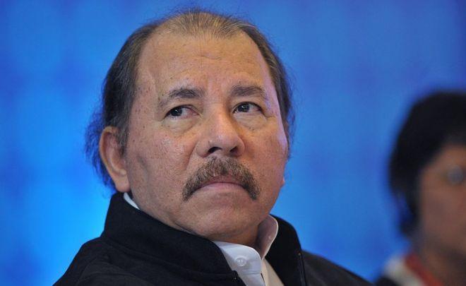 Foto en primer plano de Daniel Ortega.