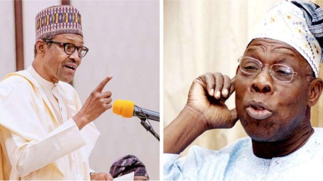 Muhammadu Buhari ati Olusegun Obasanjo