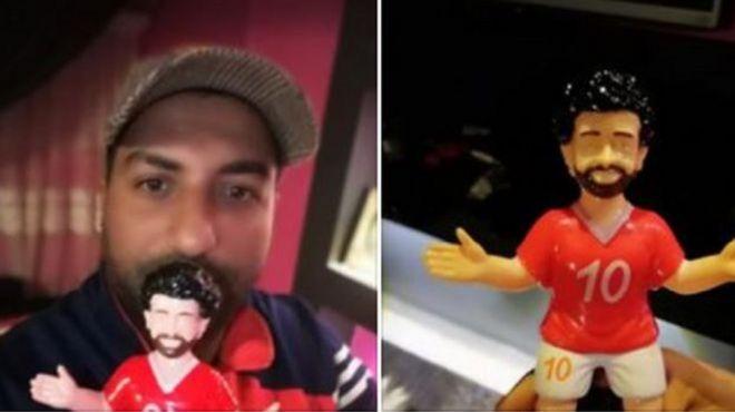 Lentera-lentera Mohamed Salah yang sangat digemari di Mesir.