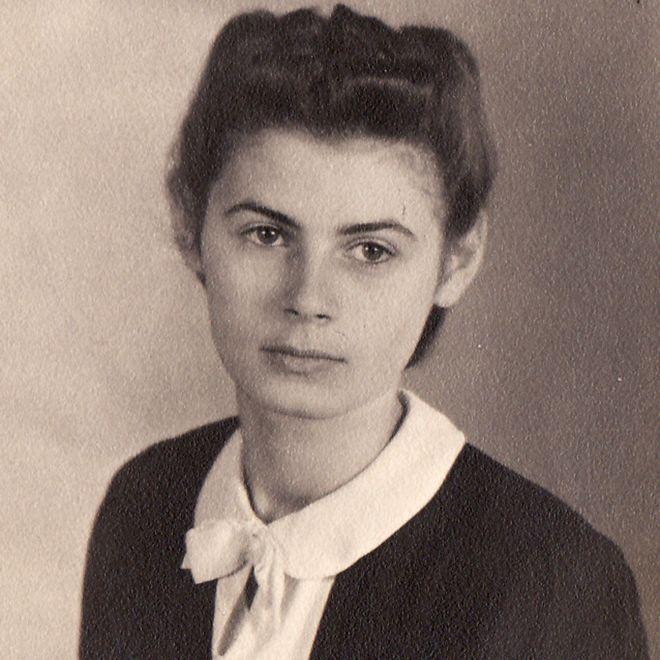 Ursula Michel em Mannheim no verão de 1939